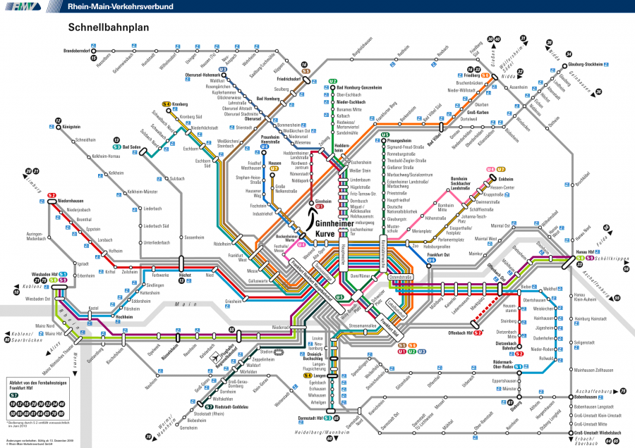 TORONTO RAIL NETWORK With GO RER  This Is A Concept Map